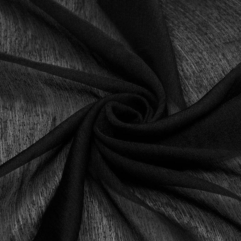 پارچه ارگانزا شاین مشکی