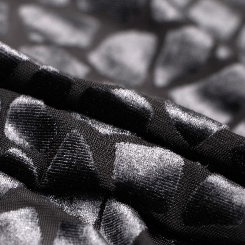 مخمل برنارد طرح سنگی نوک مدادی