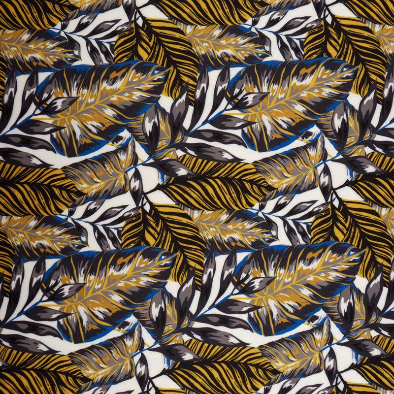 کرپ مازراتی هاوایی آبی سفید