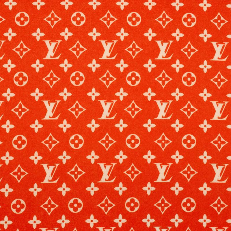 کرپ مازراتی لویی ویتون قرمز