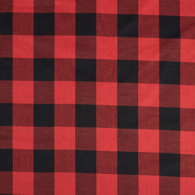 لینن چهارخونه قرمز