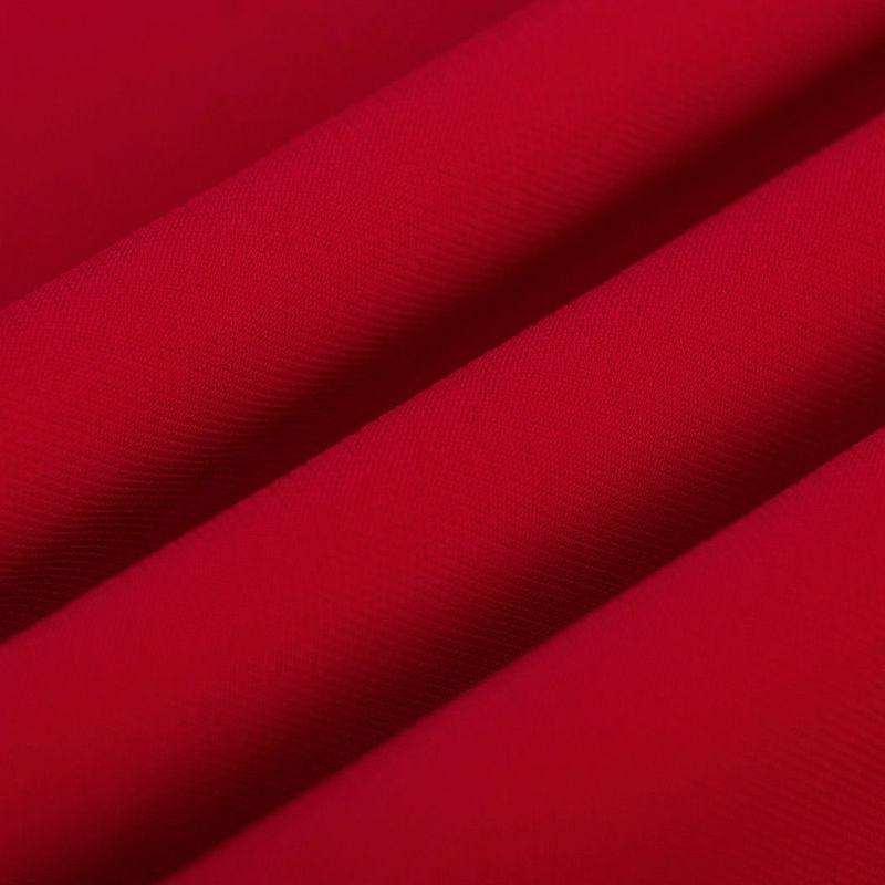 کرپ کنزو قرمز تیره