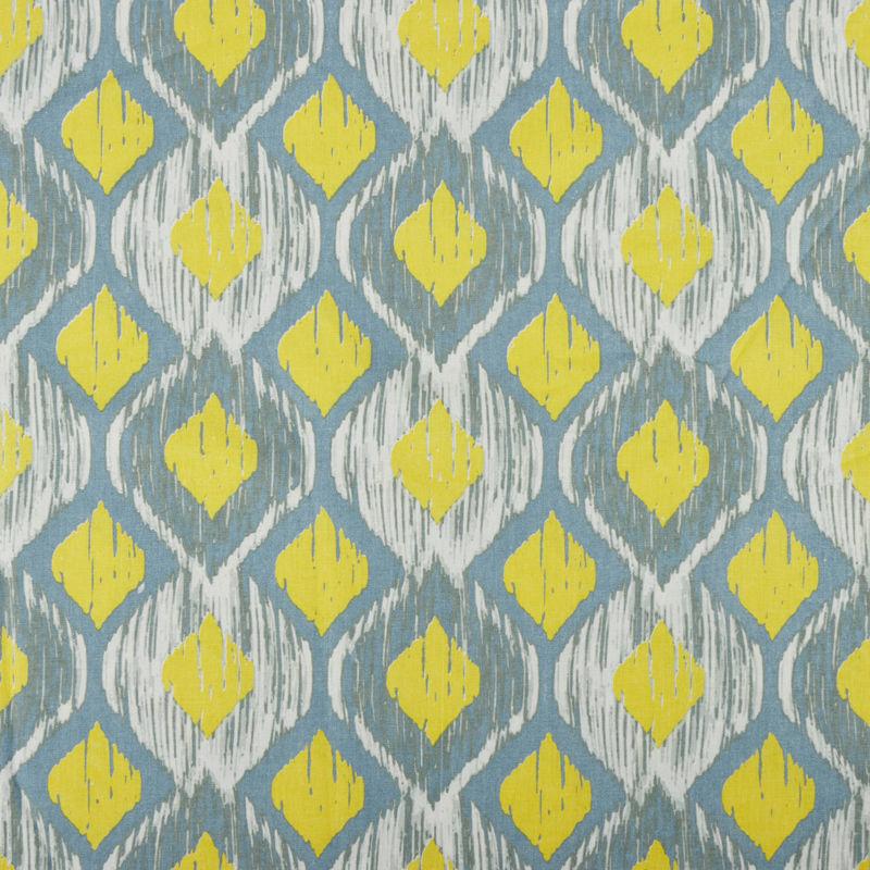 پارچه ملحفه عرض 2 لوزی زرد