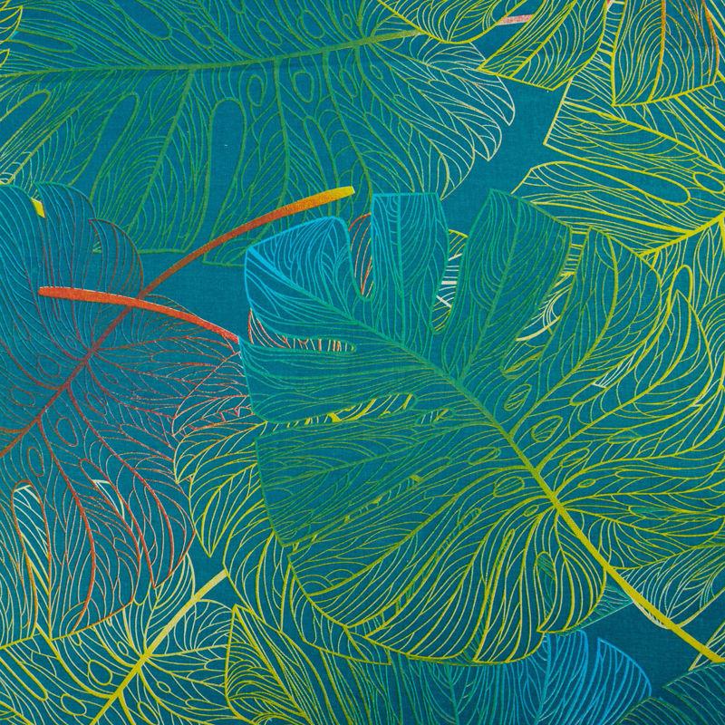 ملحفه عرض 2 برگ سبز