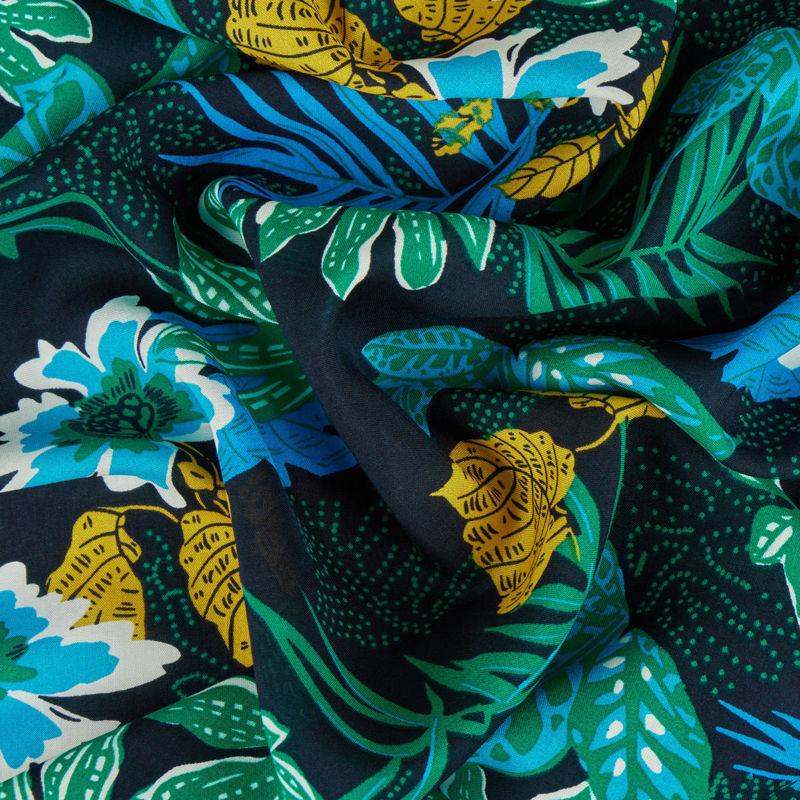 نخی هاوایی سبز سرمه ای