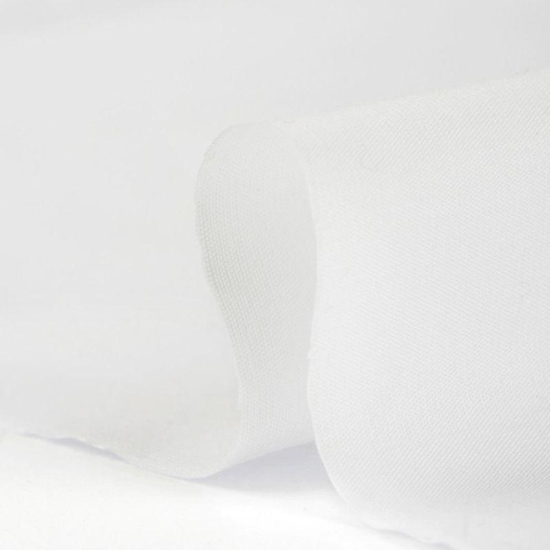 لینن پوپلین ساده سفید