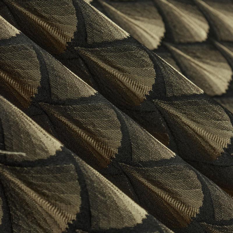 ژاکارد صدفی خردلی