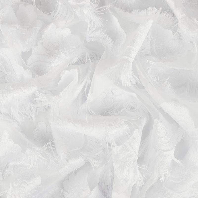 ژاکارد ارگانزا ابر سفید