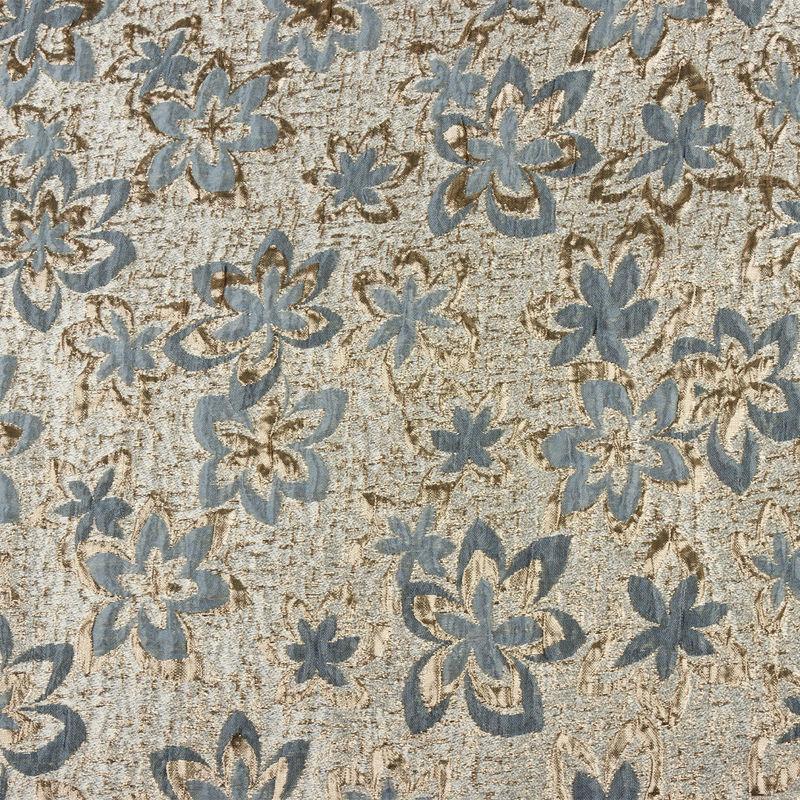 ژاکارد گل ستاره ای سربی