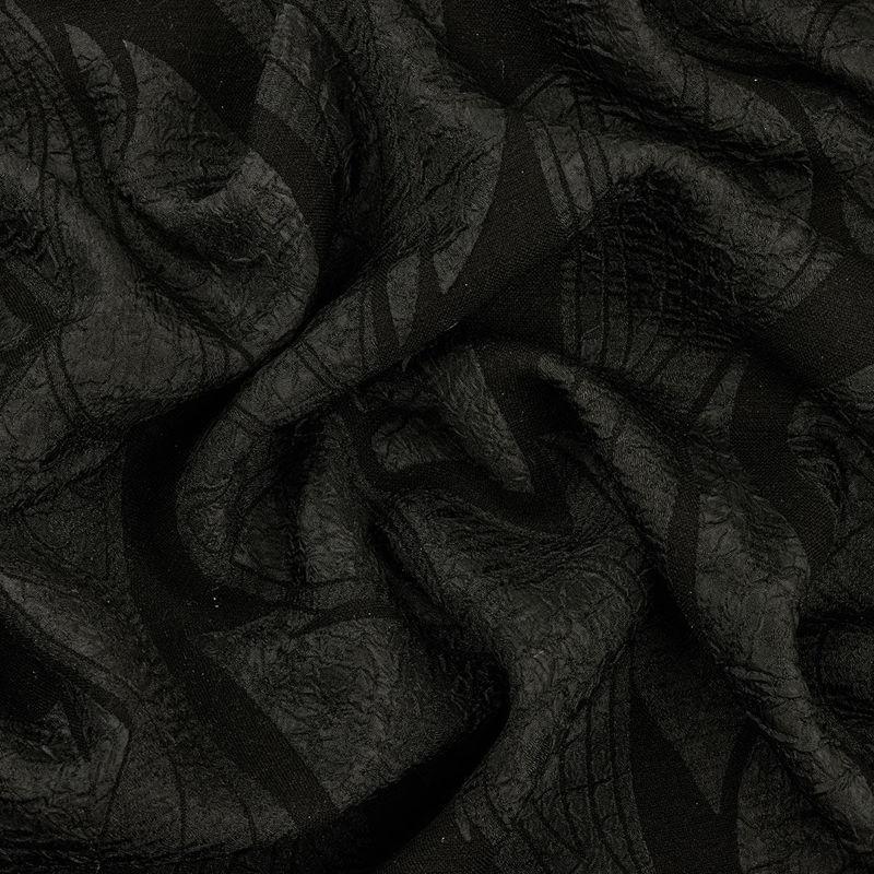ژاکارد فکورا موج برگ مشکی