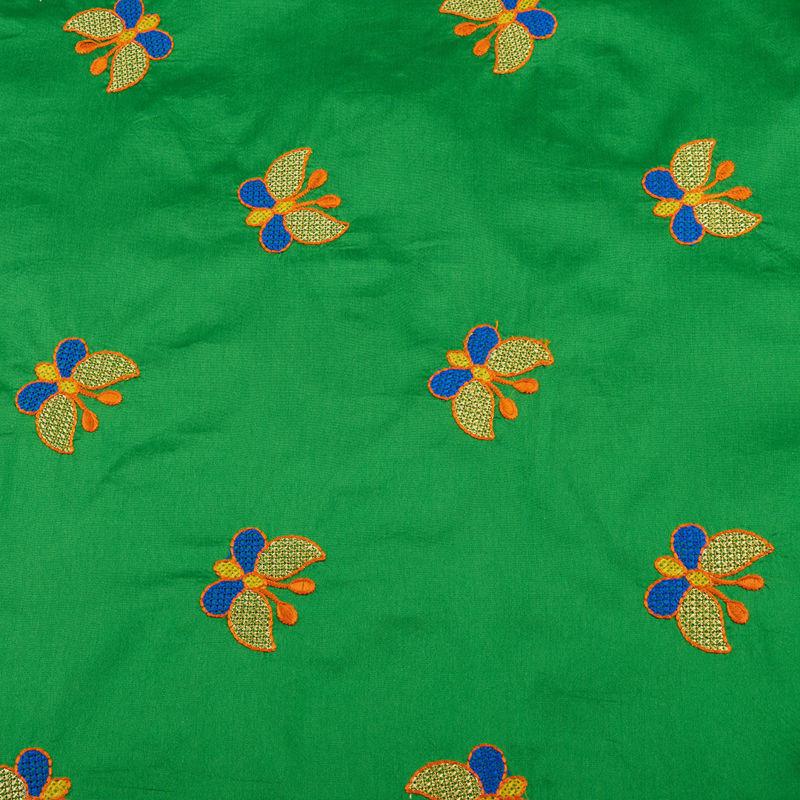 هندی تافته پروانه سبز