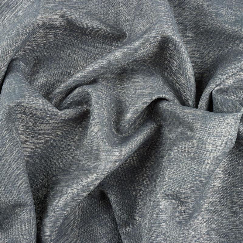 پارچه کتان کریستال ساده طوسی تیره