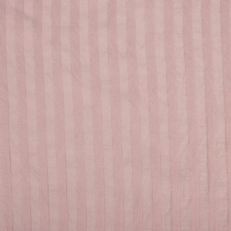 پارچه وال برنوتی راه راه صورتی چرک
