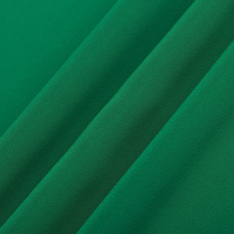 پارچه کرپ زدفور اندونزی ساده سبز پاستیلی