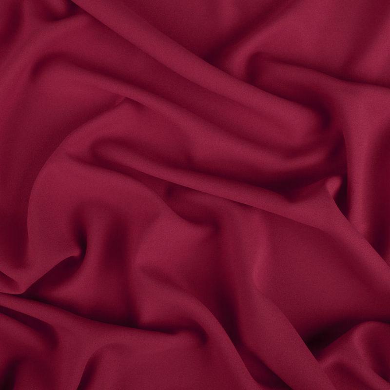 پارچه کرپ حریر کراسی قرمز تیره