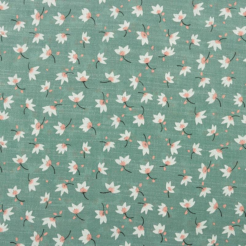 پارچه وال ژاکارد گل گچی تیفانی