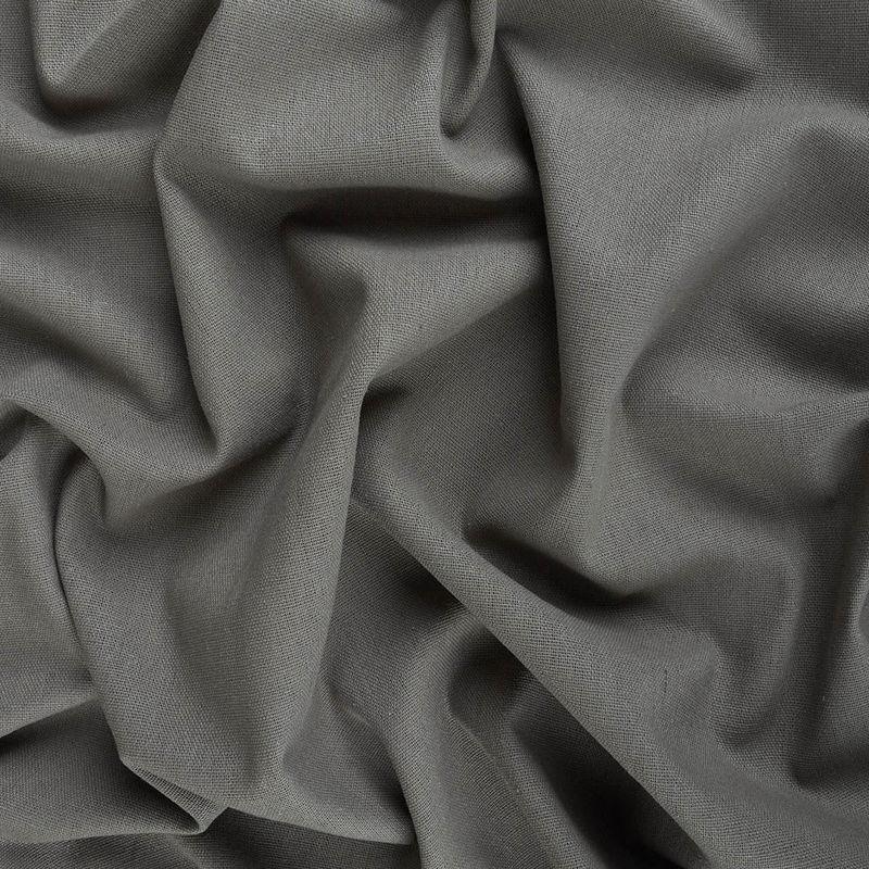 پارچه لینن کنفی ساده خاکستری