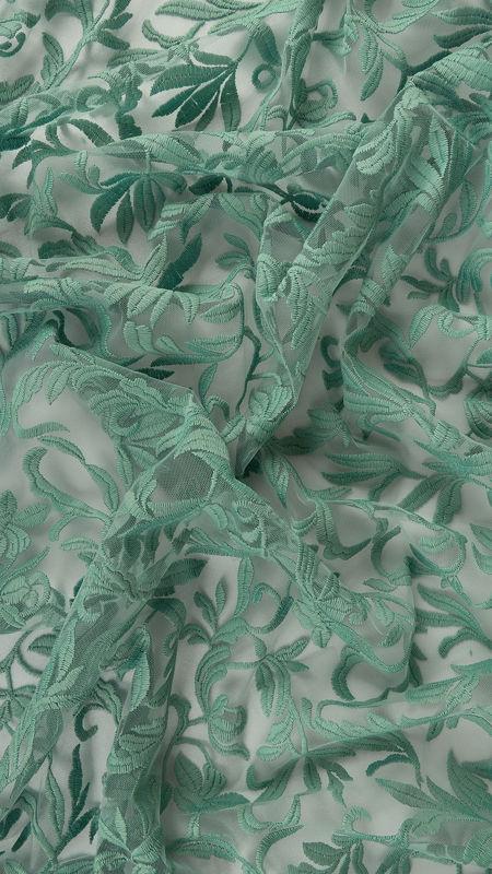 پارچه دانتل دیزاین 19077 تیفانی
