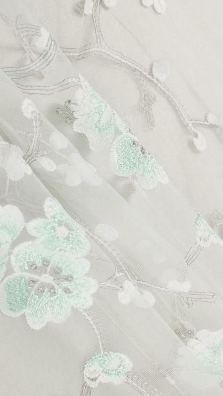 پارچه دانتل دیزاین 18344 سبزپاستلی