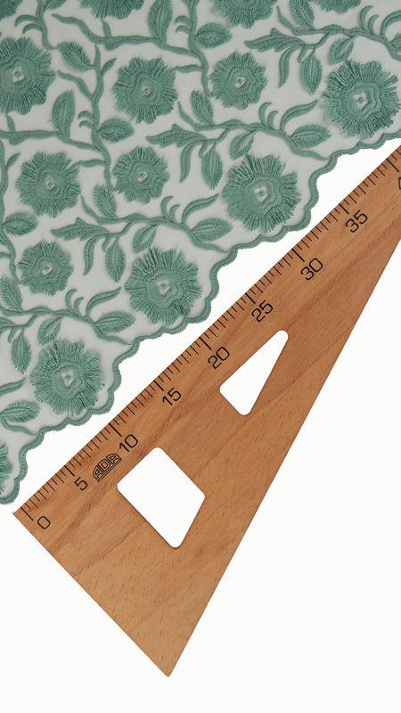 پارچه دانتل دیزاین18395 تیفانی