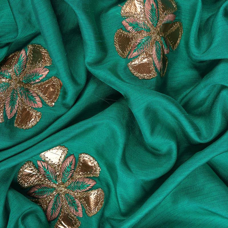 هندی تافته دیزاین 0612/1 سبزآبی