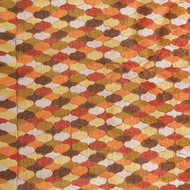 هندی تافته دیزاین 0612/3 خردلی