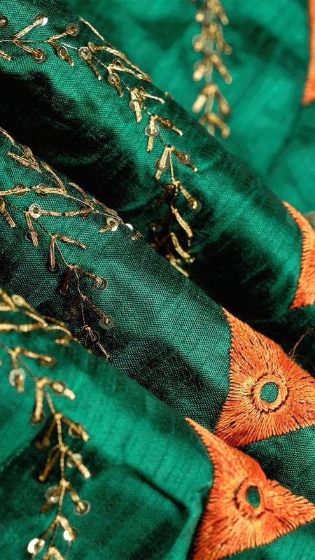 هندی تافته دیزاین 0612/5 یشمی