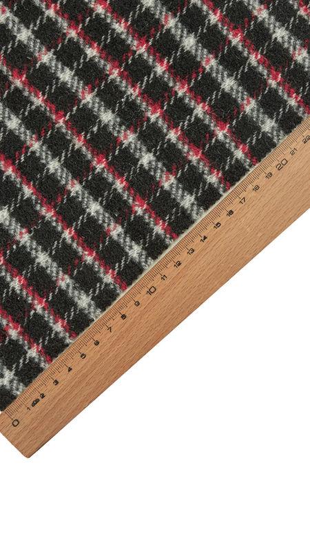 آلپاکا چهارخانه 2021 دیزاین 0618/3 مشکی قرمز