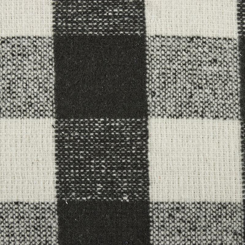 آلپاکا چهارخانه 2021 دیزاین 0618/7 سفید مشکی