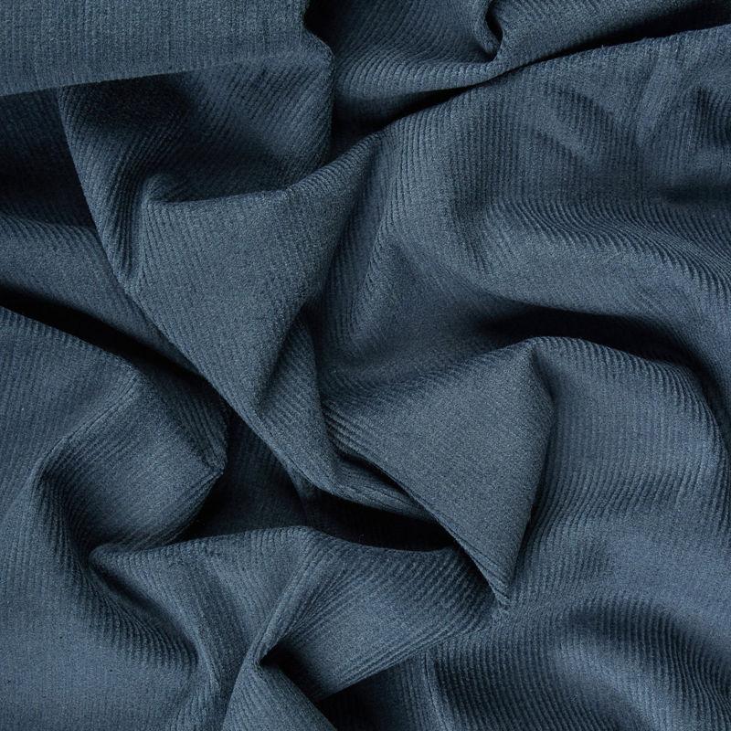 مخمل کبریتی ریز دیزاین 0706/12 آبی درباری